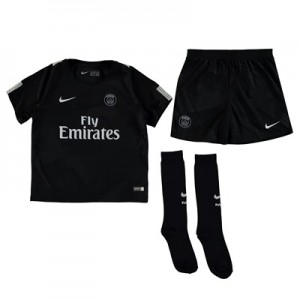 Paris Saint-Germain Third Stadium Kit 2017/18 – Little Kids