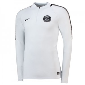 Paris Saint-Germain Squad Drill Top – White
