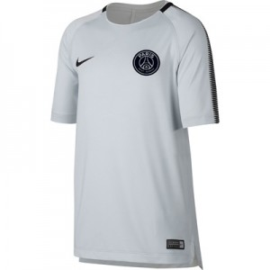 Paris Saint-Germain Squad Training Top – White – Kids