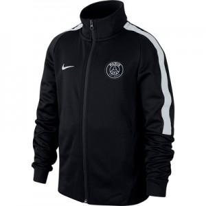 Paris Saint-Germain Authentic Franchise Jacket – Black – Kids