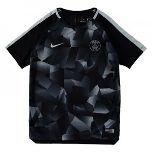 Paris Saint-Germain Squad Pre Match Top – Black – Kids