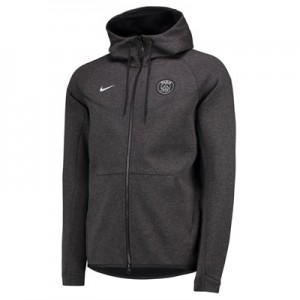 Paris Saint-Germain Authentic Tech Fleece Windrunner – Black