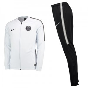 Paris Saint-Germain Squad Knit Tracksuit – White