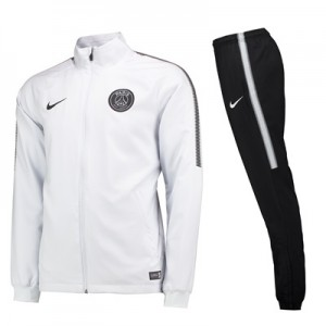 Paris Saint-Germain Squad Woven Tracksuit – White