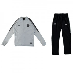 Paris Saint-Germain Squad Knit Tracksuit – White – Kids