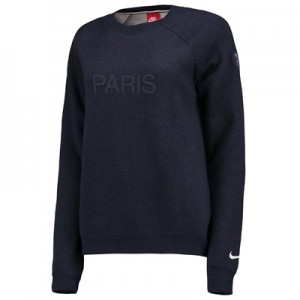 Paris Saint-Germain Authentic Crew Sweatshirt – Dk Blue – Womens