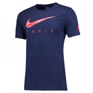 Paris Saint-Germain Pre Season T-Shirt – Blue
