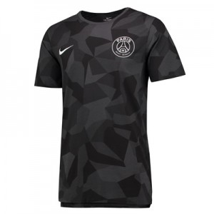 Paris Saint-Germain Match T-Shirt – Black