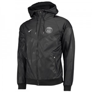 Paris Saint-Germain Authentic Windrunner – Black