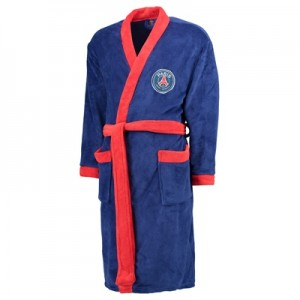 Paris Saint-Germain Dressing Gown – Navy – Mens