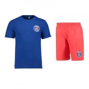 Paris Saint-Germain Short Pyjamas – Navy/Red – Mens