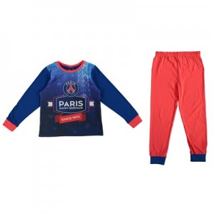 Paris Saint-Germain Snuggle Fit Pyjamas - Navy/Red - Boys