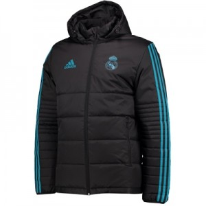 Real Madrid UCL Training Winter Jacket – Black