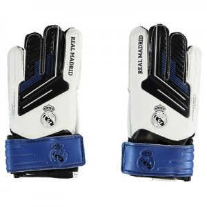 Real Madrid Crest Goalkeeper Gloves – Small