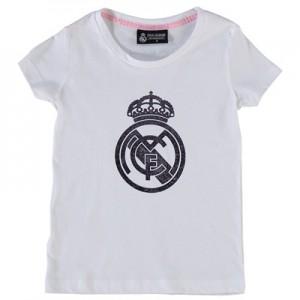 Real Madrid Tonal Crest T-Shirt – White – Infants