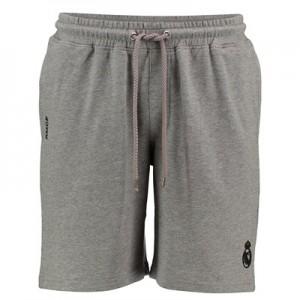 Real Madrid Fleece Shorts – Grey Marl – Mens