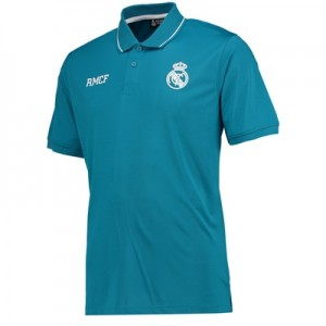 Real Madrid Polyester Training Polo Shirt – Green – Mens