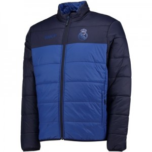 Real Madrid Padded Jacket – Blue – Mens
