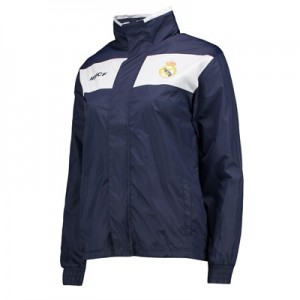 Real Madrid Shower Jacket – Navy – Junior