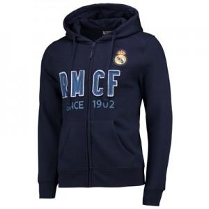 Real Madrid Since 1902 Full Zip Hoodie – Navy – Mens