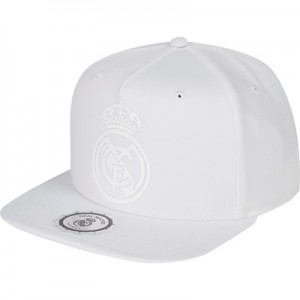 Real Madrid Snapback Cap – White – Adult