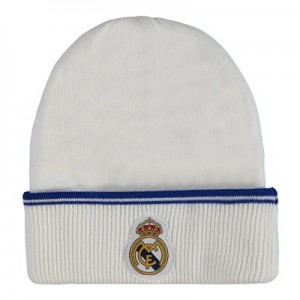 Real Madrid Fan Hat – White – Adult