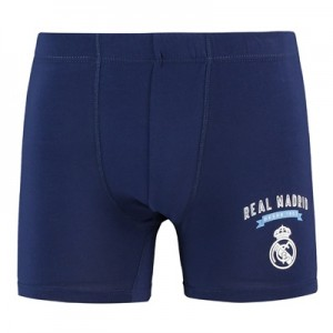 Real Madrid Boxer Shorts – Navy – Mens