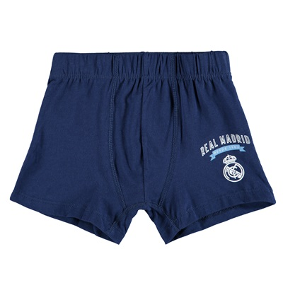 Real Madrid Boxer Shorts – Navy – Boys