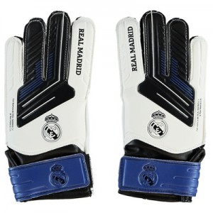 Real Madrid Crest Goalkeeper Gloves – Medium