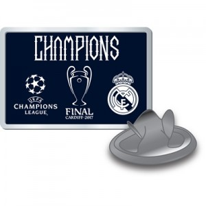 Real Madrid UEFA Champions League 2017 Winners Pin Badge