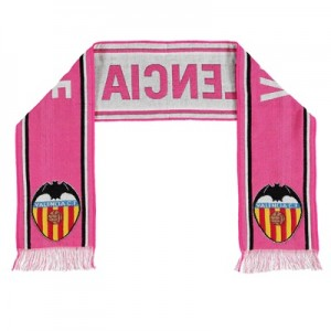 Valencia CF Core Crest Fan Scarf – Pink – Adult