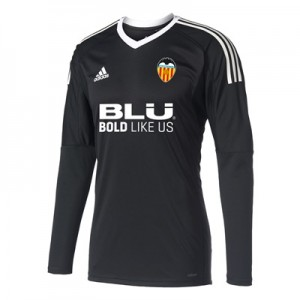 Valencia CF Goalkeeper Shirt 2017-18 – Black