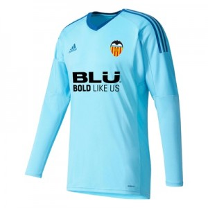 Valencia CF Goalkeeper Shirt 2017-18 – Blue