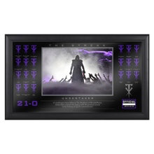 "Undertaker ""The Streak"" Commemorative Plaque"