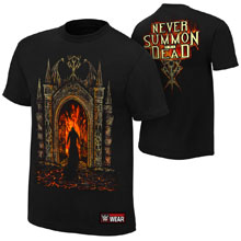 """Undertaker """"Never Summon The Dead"""" Authentic T-Shirt"""
