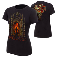 """Undertaker """"Never Summon The Dead"""" Women's Authentic T-Shirt"""