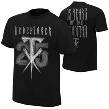 "The Undertaker ""25 Years of the Deadman"" T-Shirt"