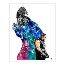 "Undertaker ""25 Years"" 11 x 14 Art Print"