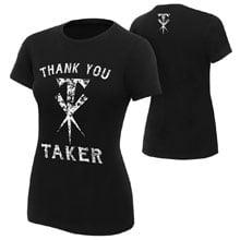 """Undertaker """"Thank You Taker"""" Women's Logo T-Shirt"""