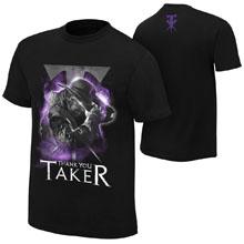 "Undertaker ""Thank You Taker"" Photo T-Shirt"