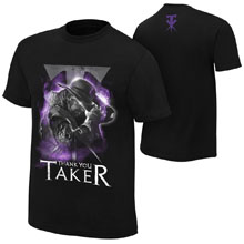 "Undertaker ""Thank You Taker"" Youth Photo T-Shirt"