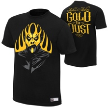 """Goldust """"Ashes To Ashes"""" Authentic T-Shirt"""