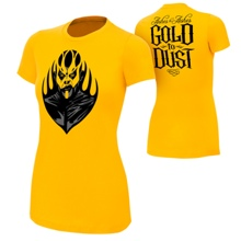 """Goldust """"Ashes To Ashes"""" Gold Version Women's Authentic T-Shirt"""