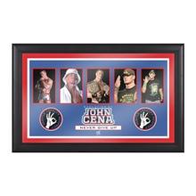 John Cena Evolution of a Superstar Plaque