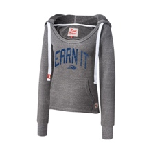 "CENA Training ""Earn It"" Women's Tri-Blend Pullover Hoodie Sweatshirt"