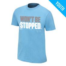 """CENA Training """"Won't Be Stopped"""" Youth T-Shirt"""