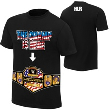 """John Cena """"The United States Champ is Here"""" Authentic T-Shirt"""
