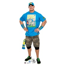 "John Cena ""Throwback"" Standee"