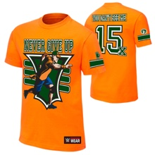 "John Cena ""15X"" Youth Authentic T-Shirt"