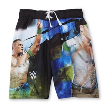 "John Cena ""Neon"" Youth Swim Trunks"